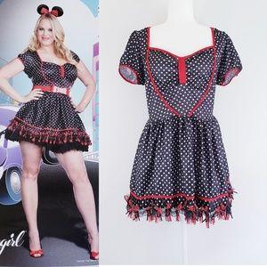 Mousin' Around Minnie Mouse Costume Plus Size